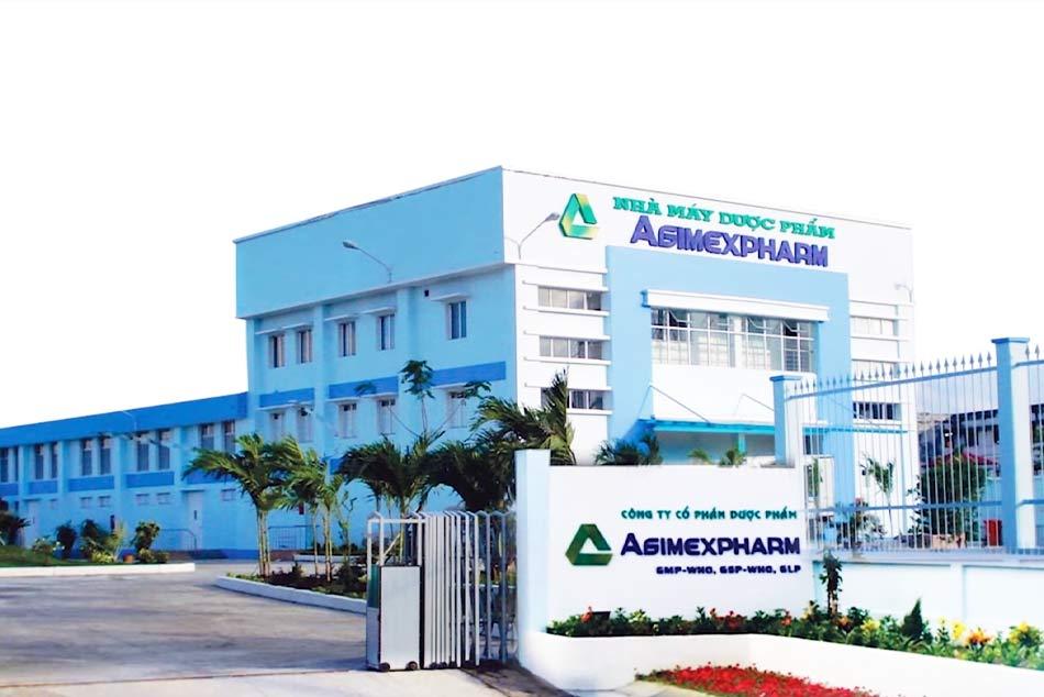 Nhà máy dược phẩm Agimexpharm đạt chuẩn GMP-WHO, GSP-WHO, GLP