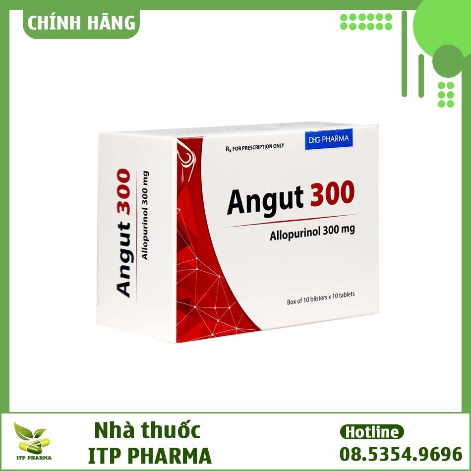 Thuốc Angut 300 - Làm giảm nồng độ acid uric trong máu