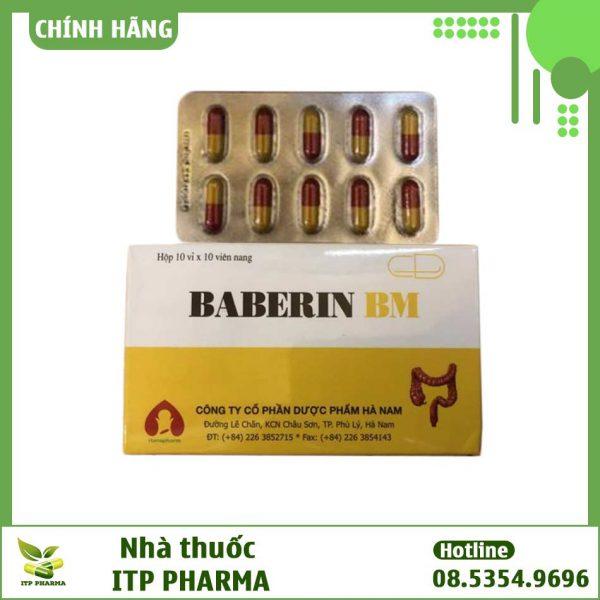 Thuốc Baberin BM - Điều trị đau bụng, đầy hơi