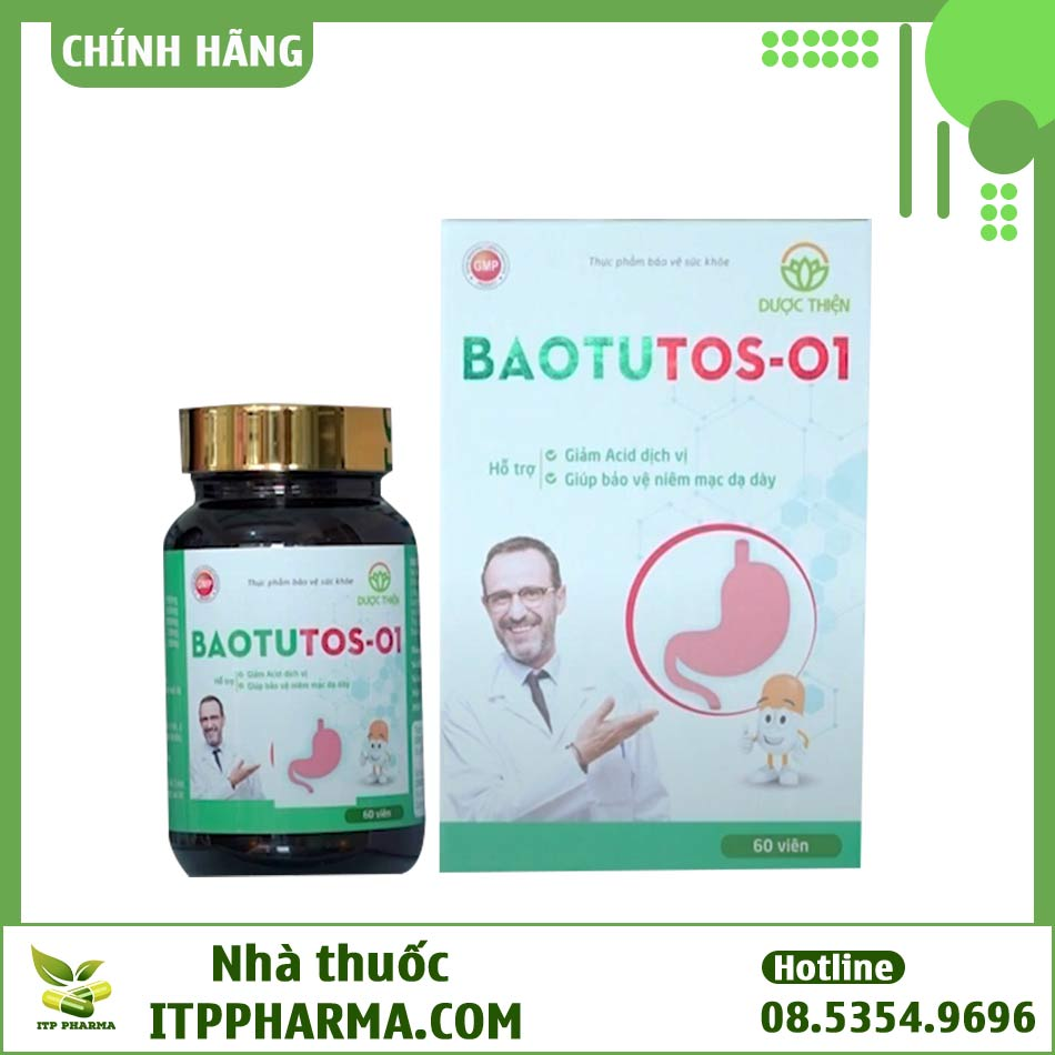 Thực phẩm bảo vệ sức khỏe BAOTUTOS-01
