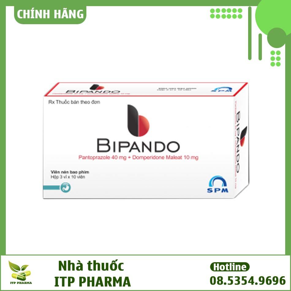Hình ảnh thuốc Bipando 40mg