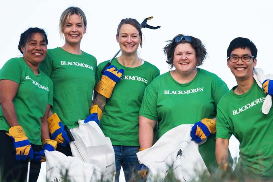 Blackmores luôn quan tâm đến các hoạt động bảo vệ môi trường