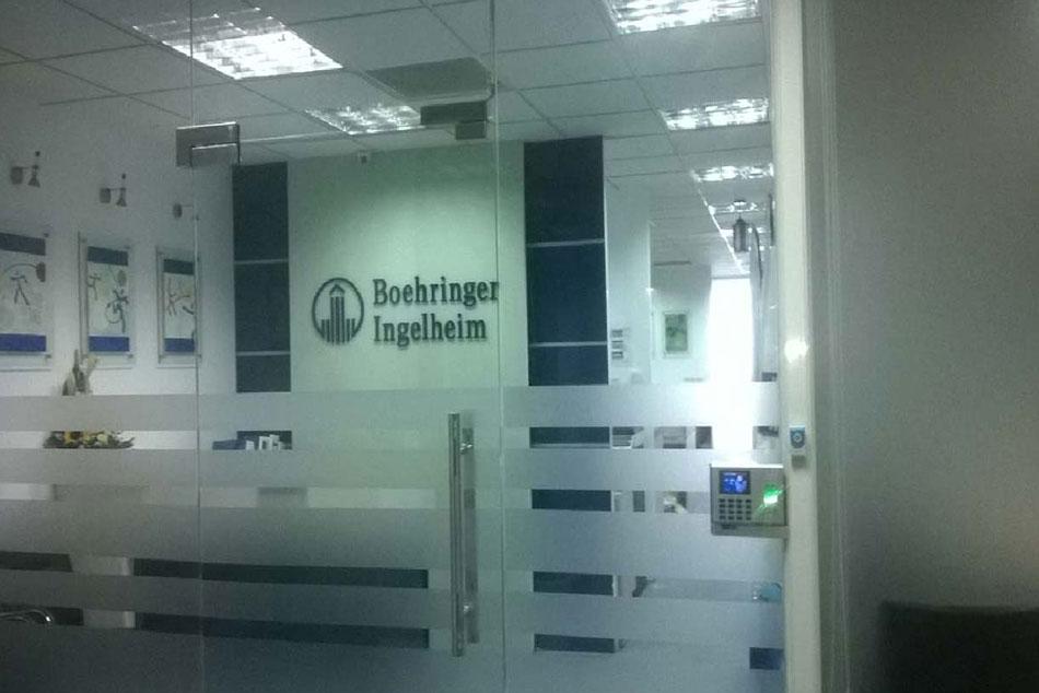 Hình ảnh văn phòng công ty Boehringer Ingelheim
