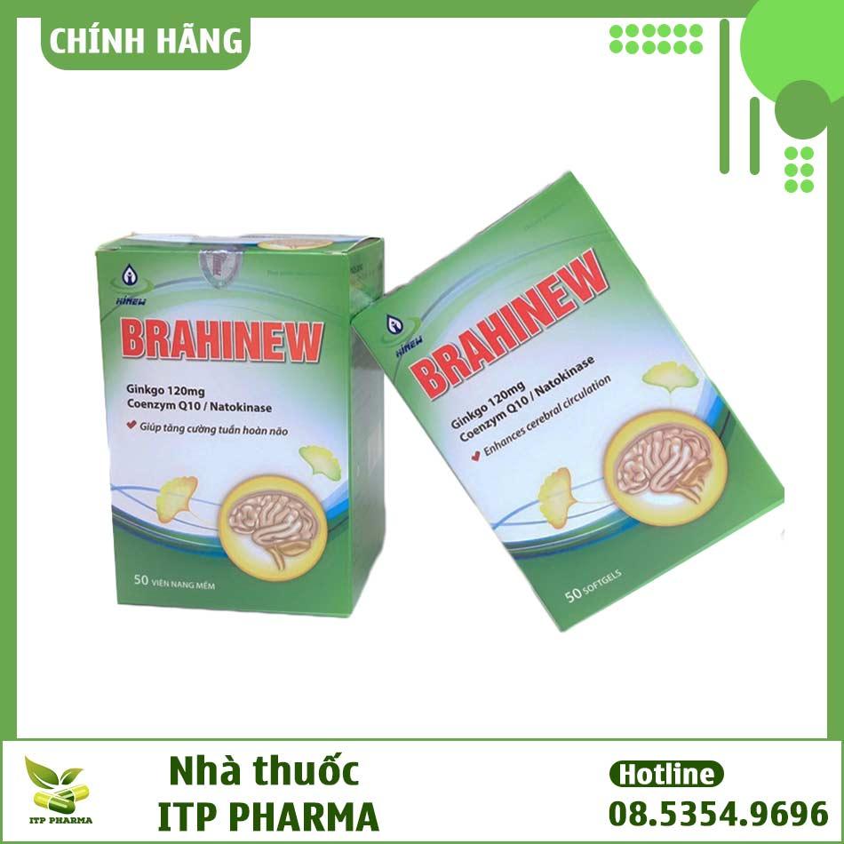 Brahinew - Viên uống bổ não, cải thiện trí nhớ