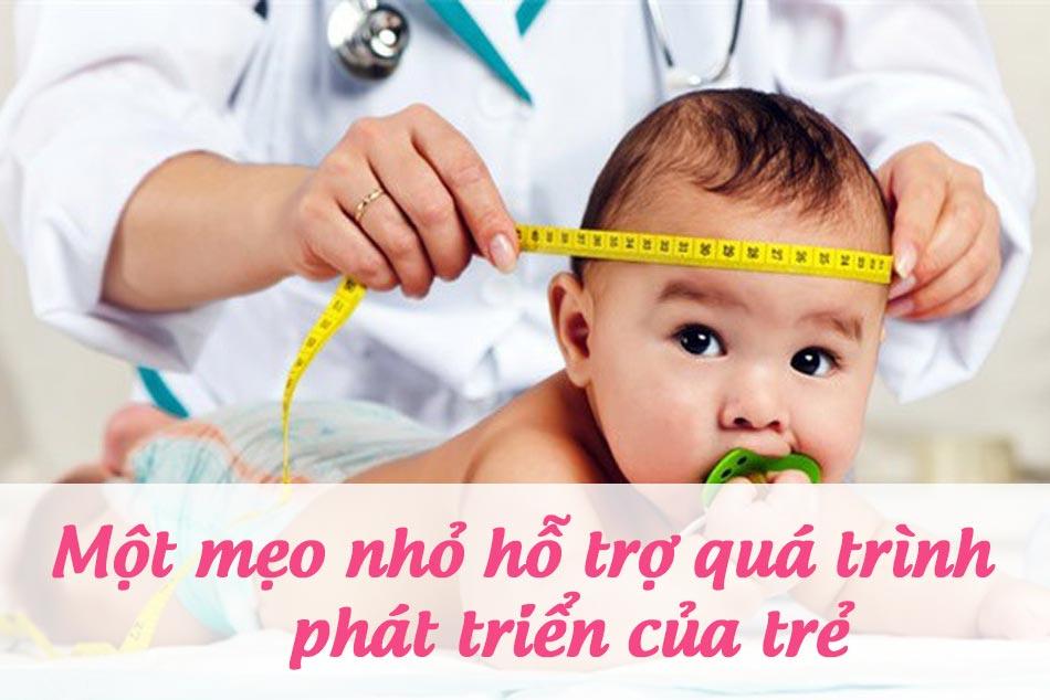 Các mẹo nhỏ hỗ trợ tích cực cho sự phát triển của trẻ sơ sinh