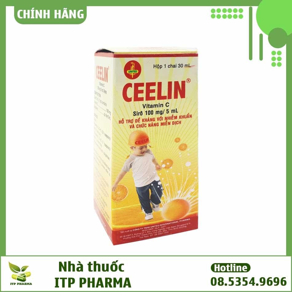 Hộp thuốc Ceelin