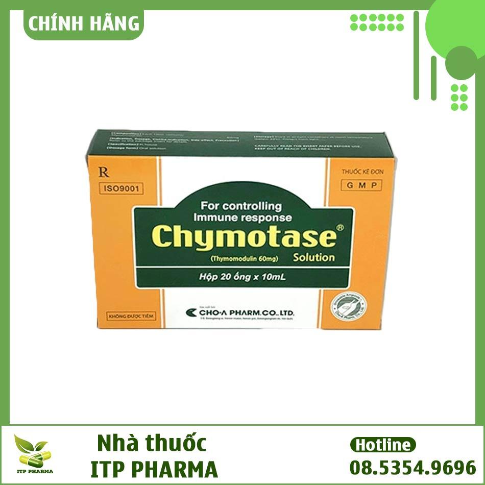 Hình ảnh hộp thuốc Chymotase