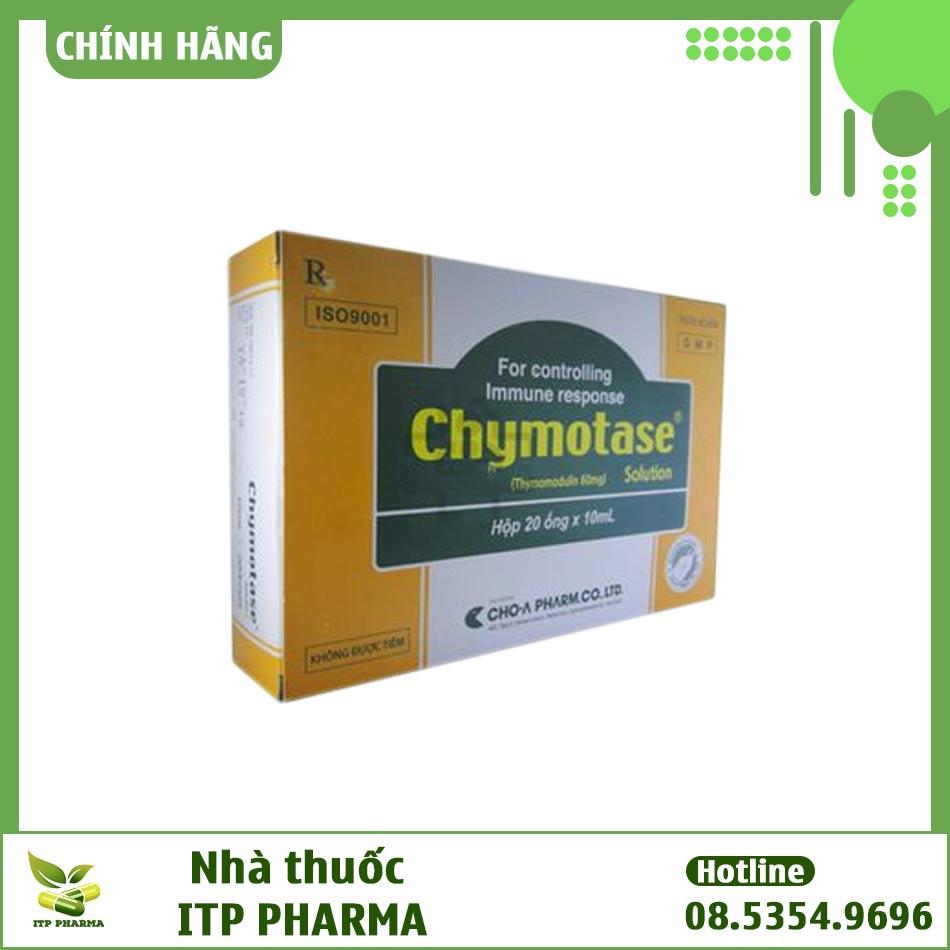 Thuốc Chymotase - Hỗ trợ điều trị nhiễm trùng do virus và vi khuẩn