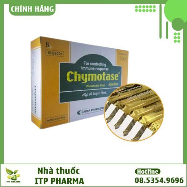 Hình ảnh thuốc Chymotase