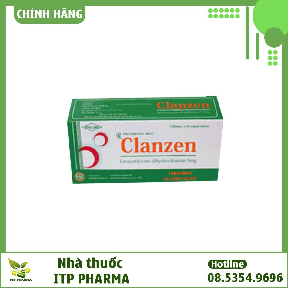 Hộp thuốc Clanzen