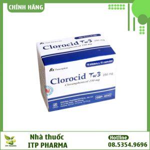 Hộp thuốc Clorocid 4 vỉ x 10 viên