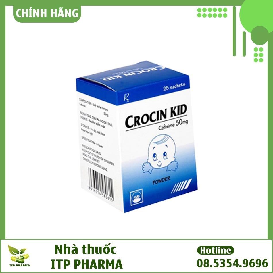 Hình ảnh hộp thuốc Crocin 50mg
