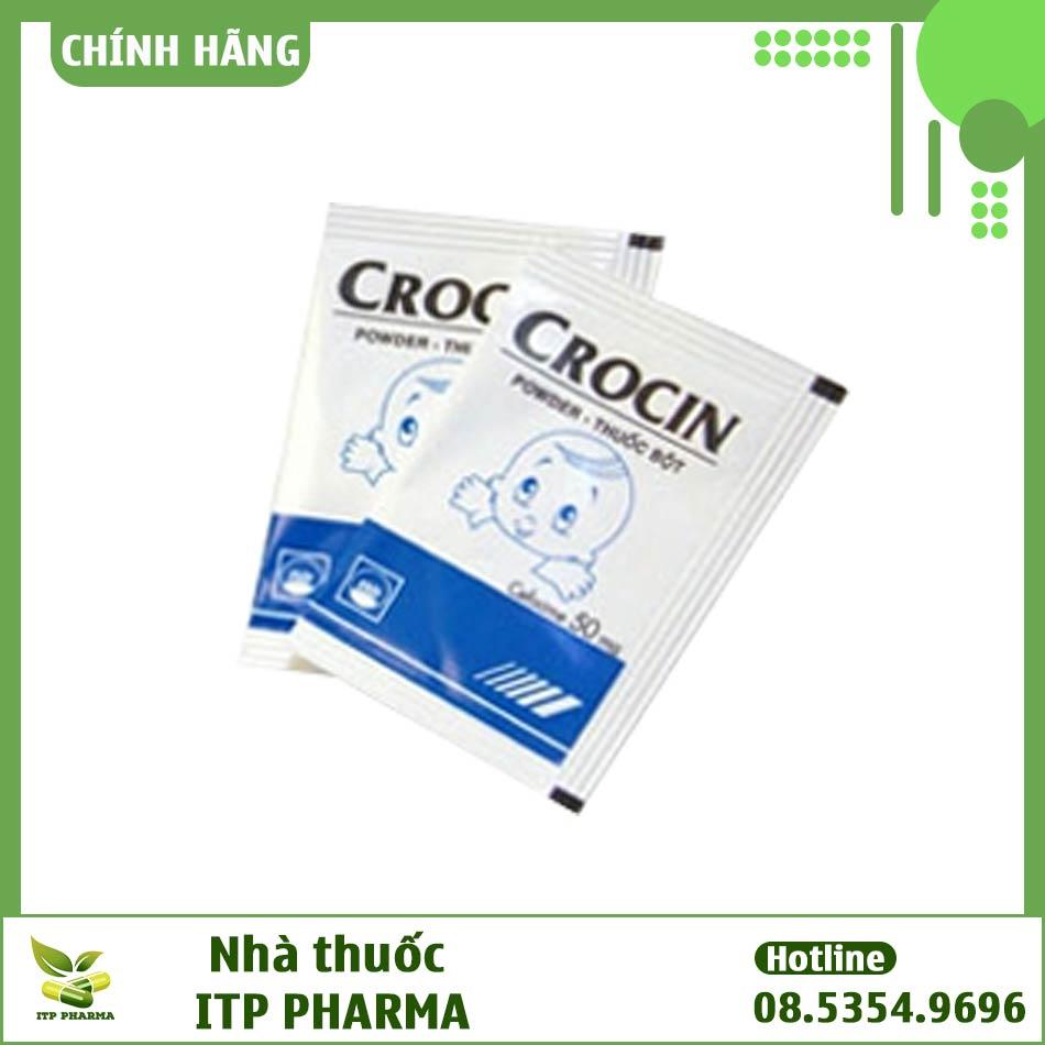 Hình ảnh gói thuốc Crocin 50mg