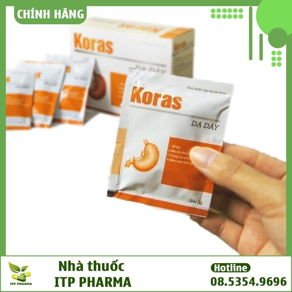 Dạ dày Koras không phải là thuốc