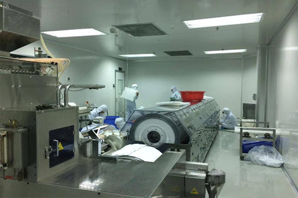 Bên trong nhà máy sản xuất công ty