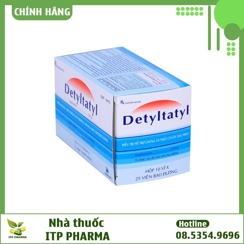 Hình ảnh hộp thuốc Detyltatyl