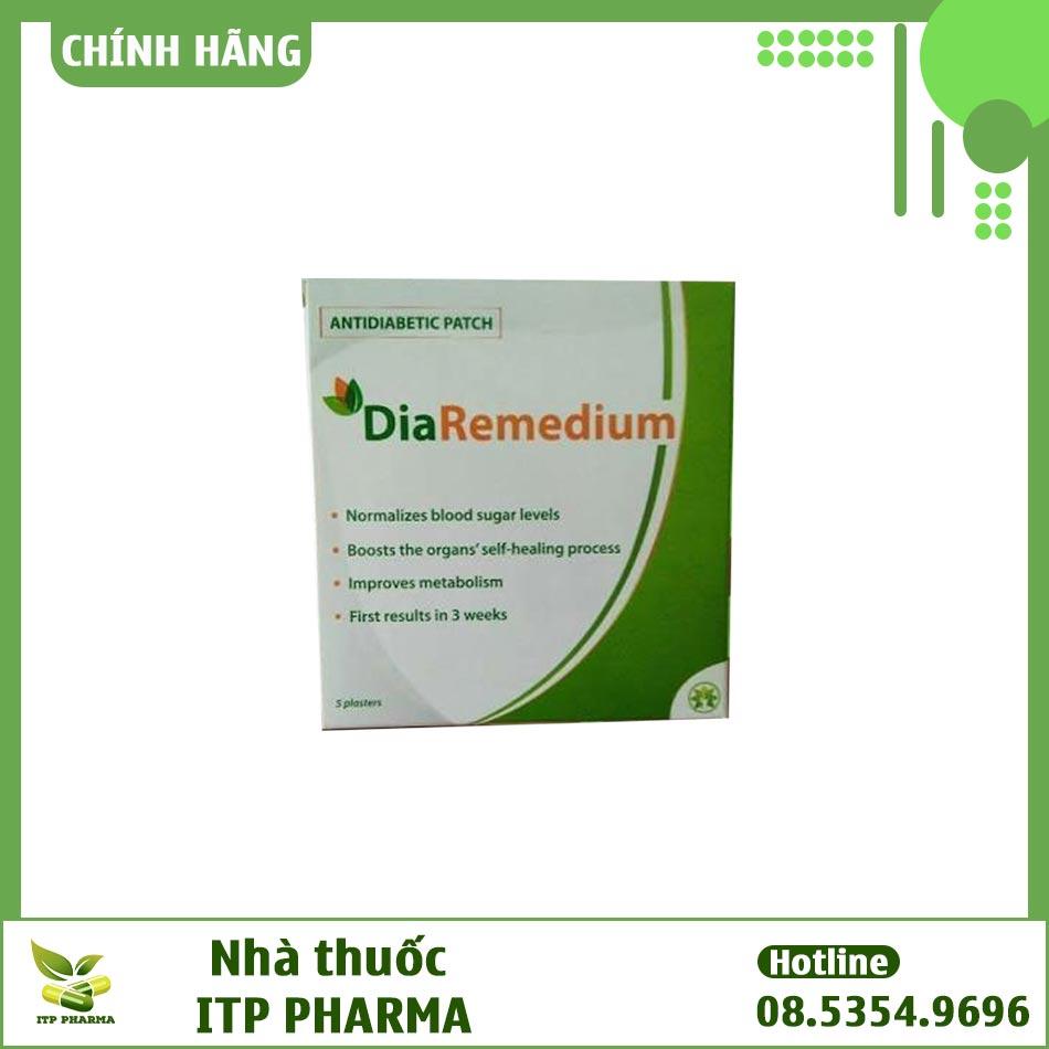 Hình ảnh hộp sản phẩm Diaremedium