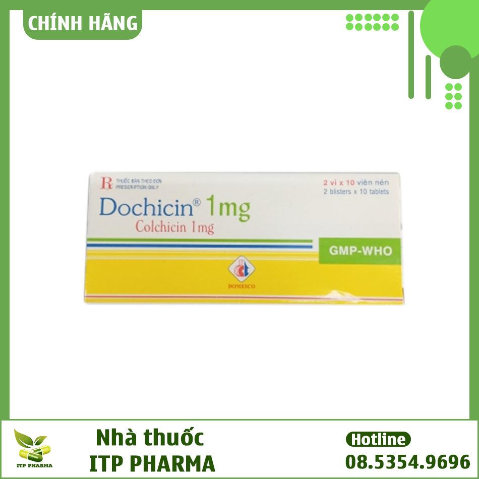 Hình ảnh hộp thuốc Dochicin