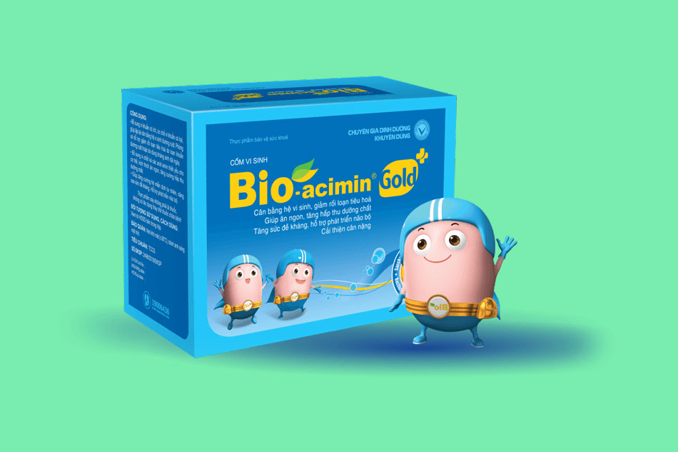 Cốm vi sinh Bio-acimin Gold