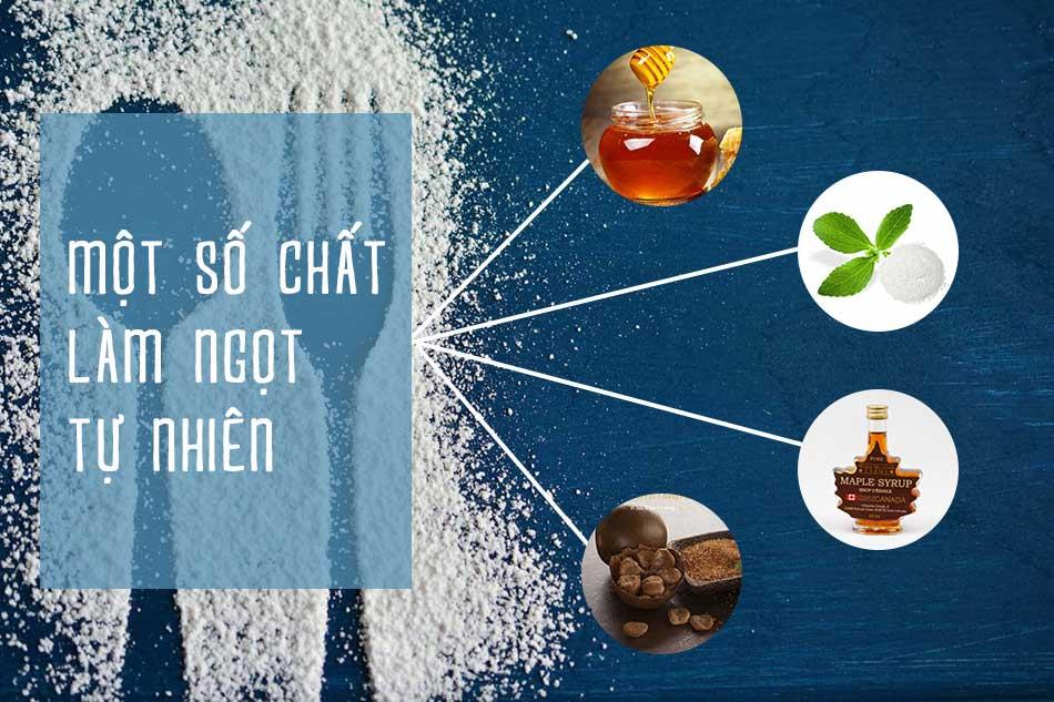 Một số chất làm ngọt tự nhiên