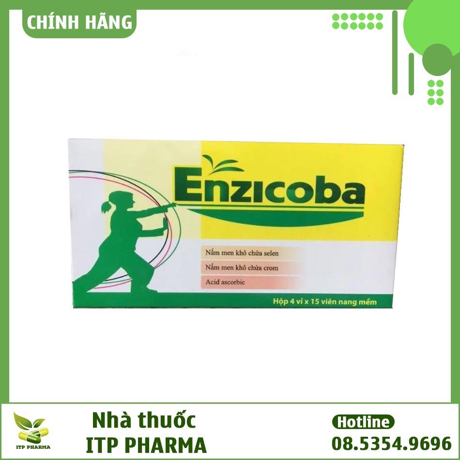 Hình ảnh hộp thuốc Enzicoba