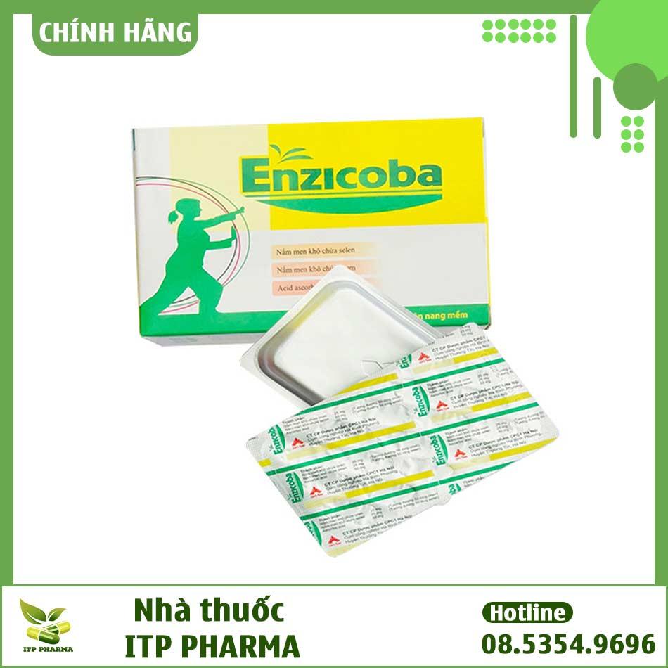 Enzicoba - Giúp ngăn ngừa lão hóa và tăng cường hệ miễn dịch