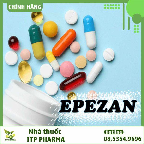 Thuốc điều trị các triệu chứng tăng trương lực cơ - Epezan