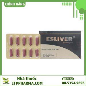 Thuốc cải thiện chức năng gan Esliver
