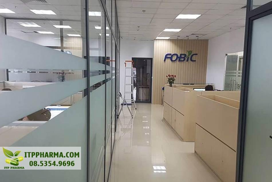 Không gian làm việc của công ty Fobic