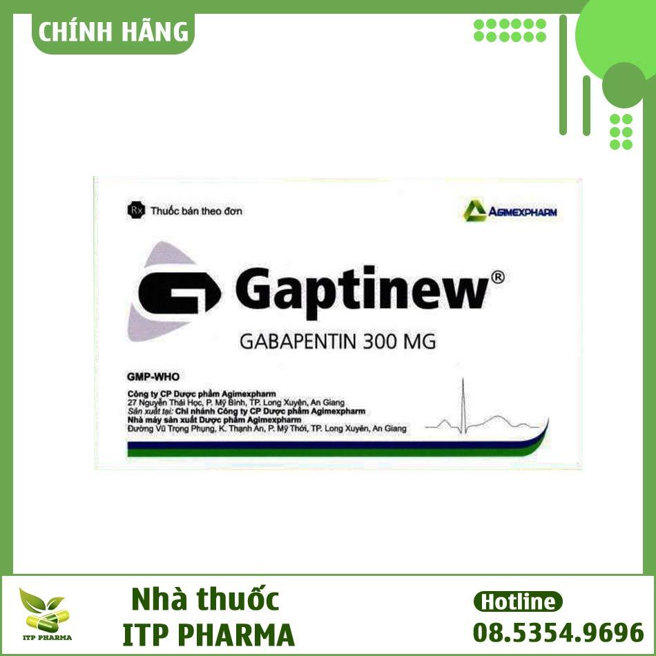 Hộp thuốc Gaptinew chống động kinh