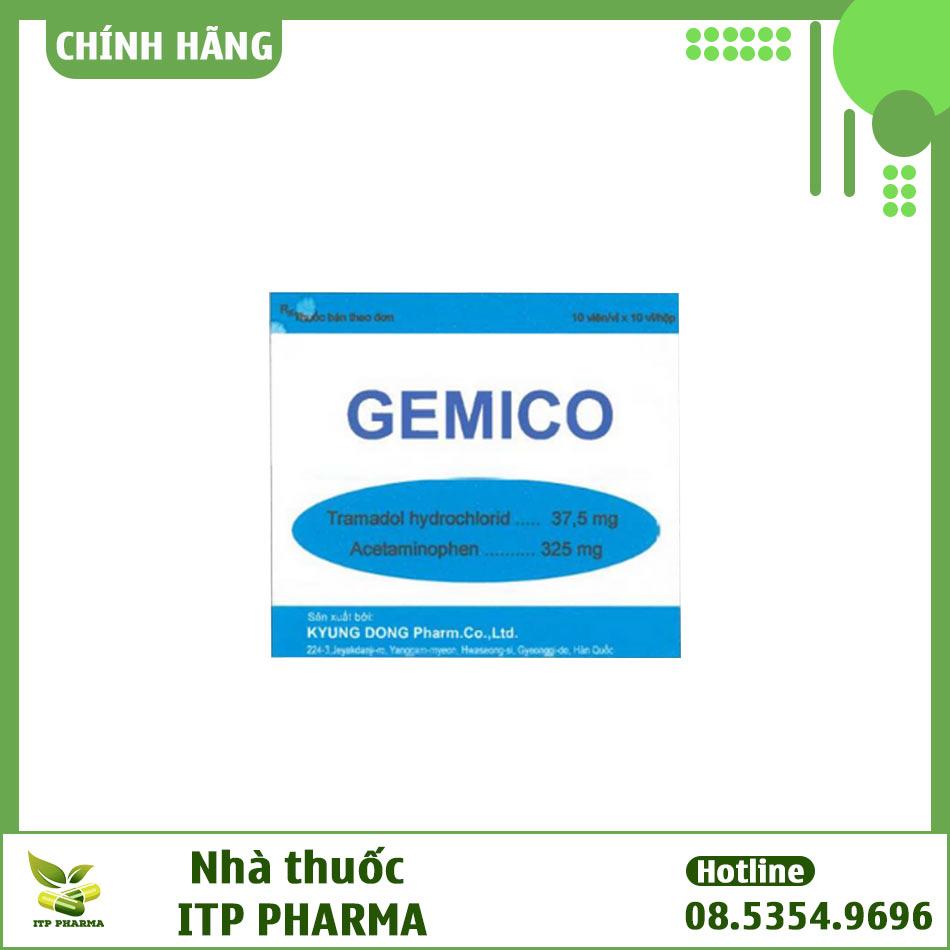 Hộp thuốc Gemico