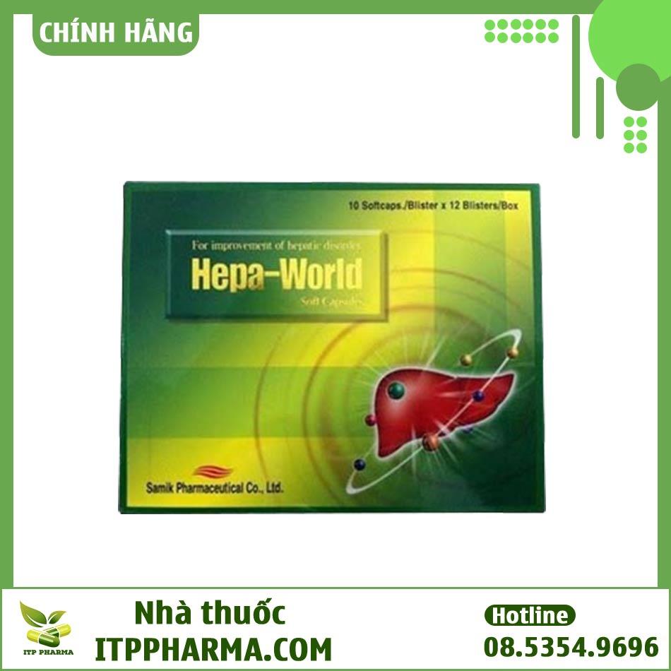 Viên nang cải thiện chức năng gan Hepa World