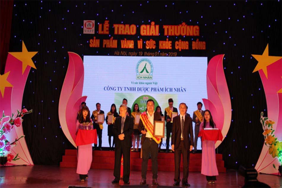 Lễ trao giải thưởng Sản phẩm vì sức khỏe cộng đồng