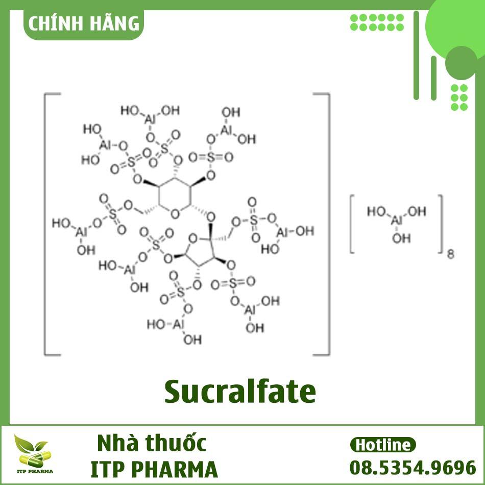 Công thức hóa học của Sucralfate