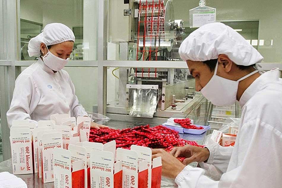 Hình ảnh nơi sản xuất và đóng gói của công ty Imexpharm