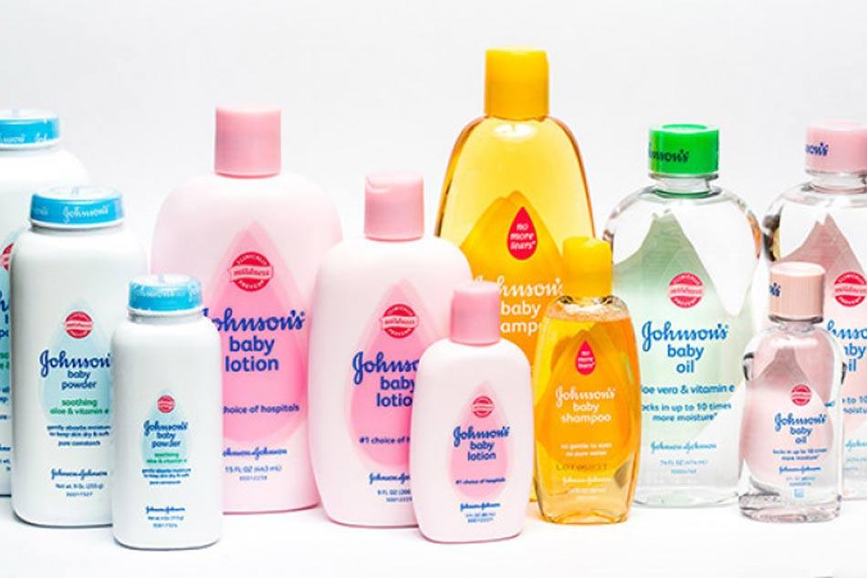 Các sản phẩm của thương hiệu Johnson & Johnson