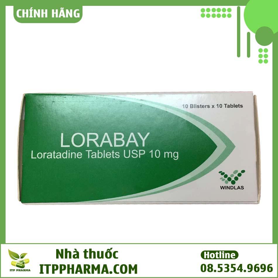 Hộp thuốc Lorabay chống dị ứng và quá mẫn