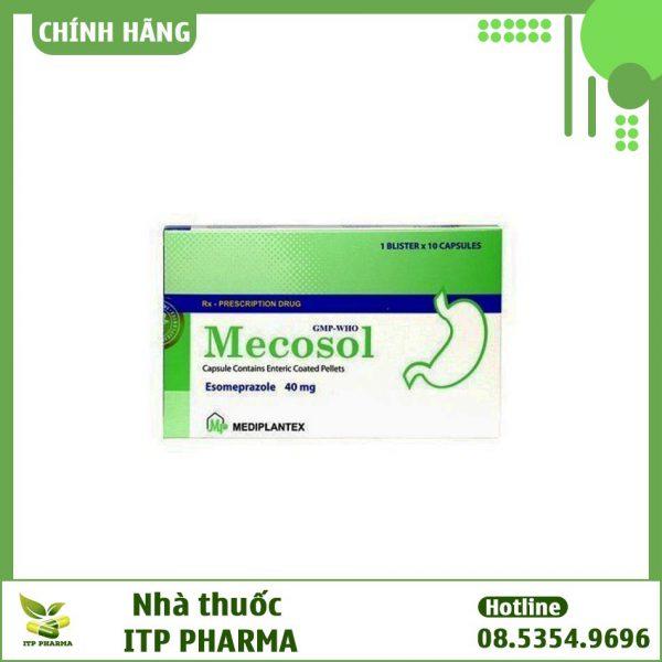 Hộp thuốc Mecosol