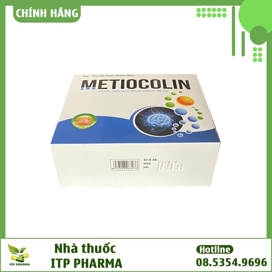 Hình ảnh hộp thuốc Metiocolin