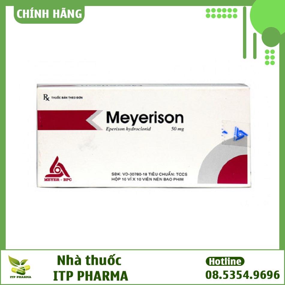 Hình ảnh hộp thuốc Meyerison