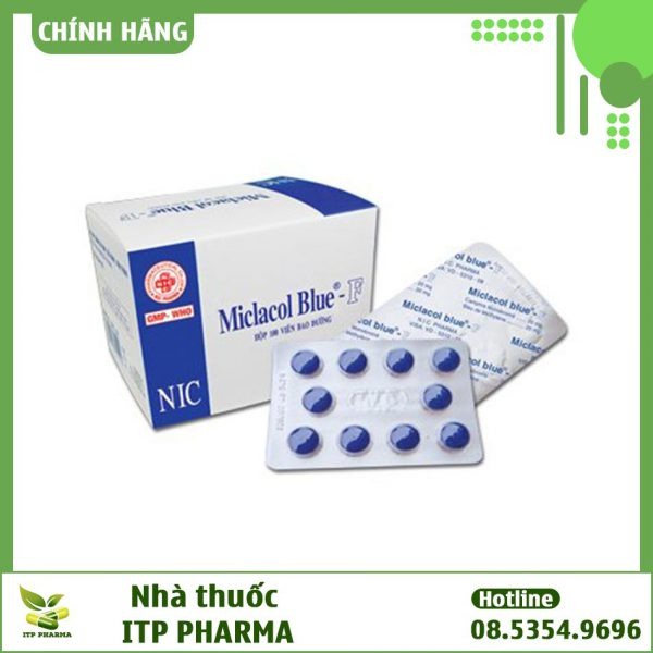 Hình ảnh thuốc Micfaso Blue