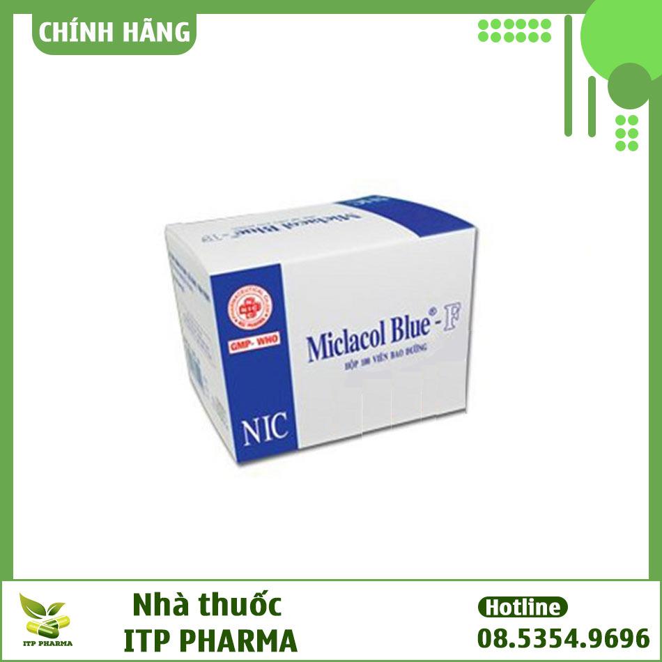 Hình ảnh hộp thuốc Micfaso Blue
