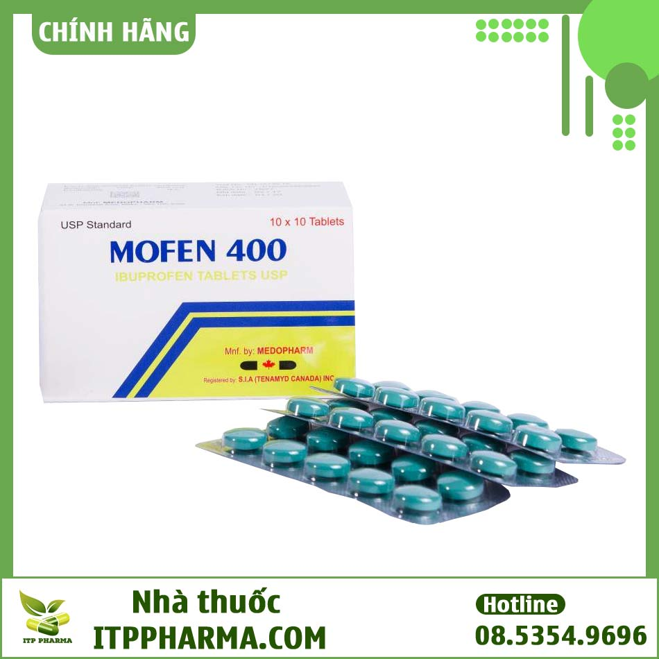 Hộp thuốc Mofen giảm đau, hạ sốt, chống viêm