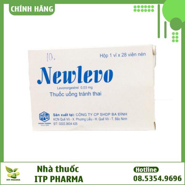 Thuốc tránh thai hằng ngày Newlevo màu xanh