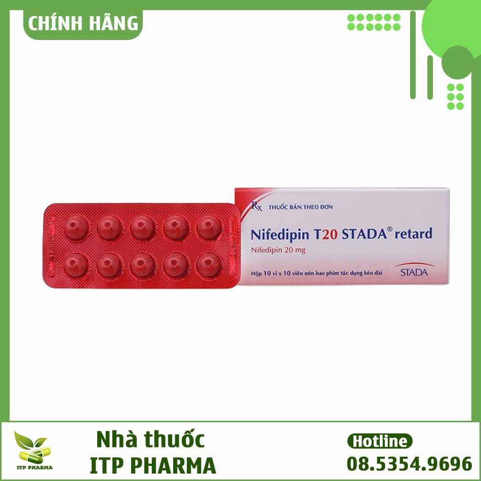 Hình ảnh thuốc Nifedipin T20