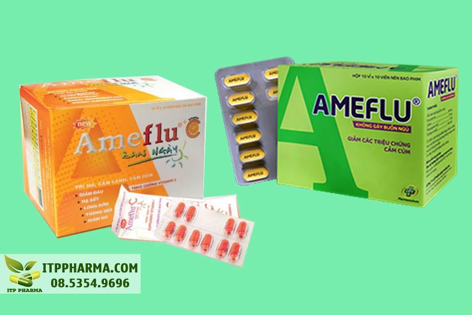 Ameflu - sản phẩm nổi bật của OPV