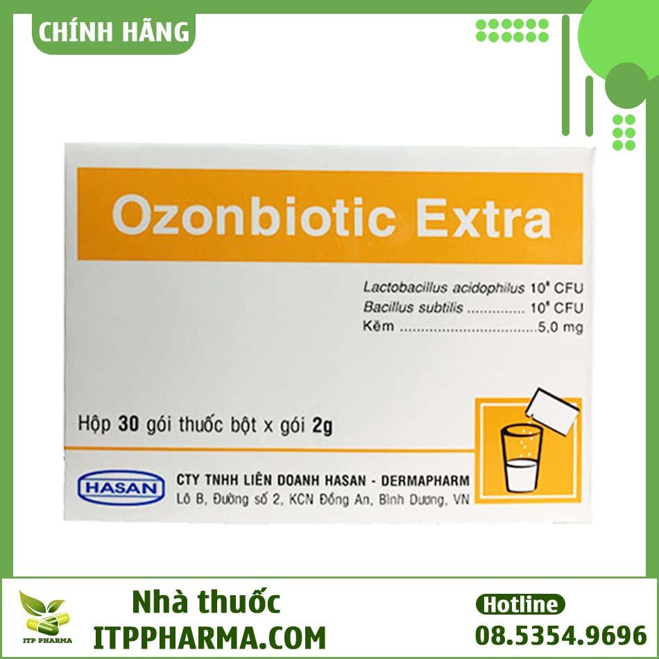 Hộp thuốc cải thiện đường tiêu hóa Ozonbiotic Extra