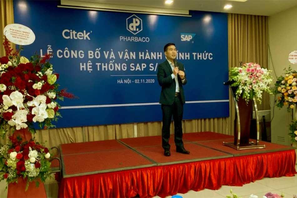 Lễ công bố và vận hành hệ thống SAP