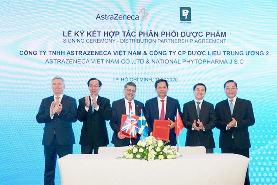 AstraZeneca chọn Phytopharma làm nhà phân phối thuốc tại Việt Nam