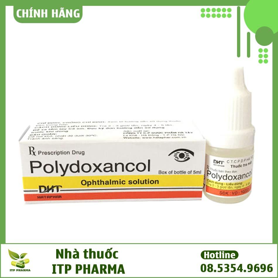 Thuốc tra mắt Polydoxancol 5ml